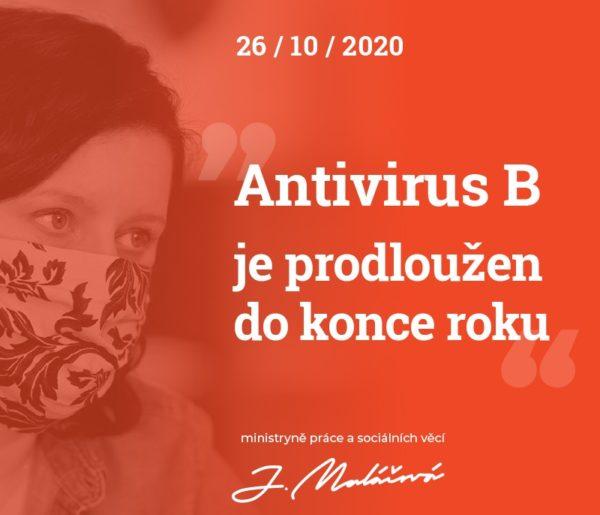 Prodloužení – Antivirus B